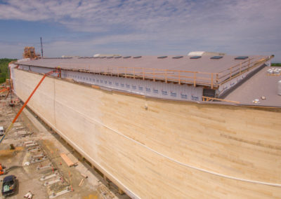 Ark Encounter_Phase 1_Ark_Drone_Ark Close_High Res_05122016_0000