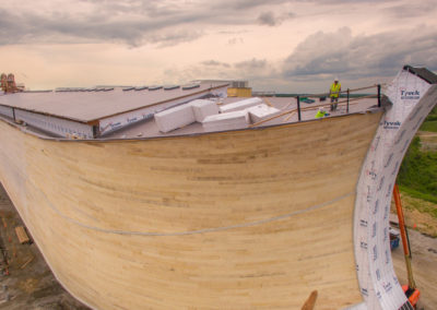 Ark Encounter_Phase 1_Ark_Drone_Ark Stern Close_High Res_05122016_0000