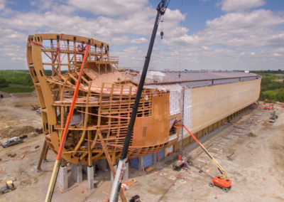 Ark Encounter_Phase 1_Ark_Drone_Bow_05132016_0000_High Res